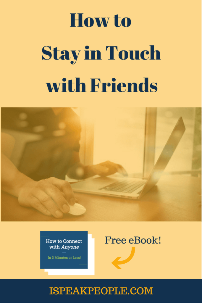 Would you like to stay in touch with friends as an introvert? It doesn't have to be hard! Read on to learn my proven system. stay in touch with friends quotes, stay in touch with friends families, stay in touch with friends life, stay in touch with friends truths, stay in touch with friends people, stay in touch with friends long distance, stay in touch with friends heart, stay in touch with friends social media