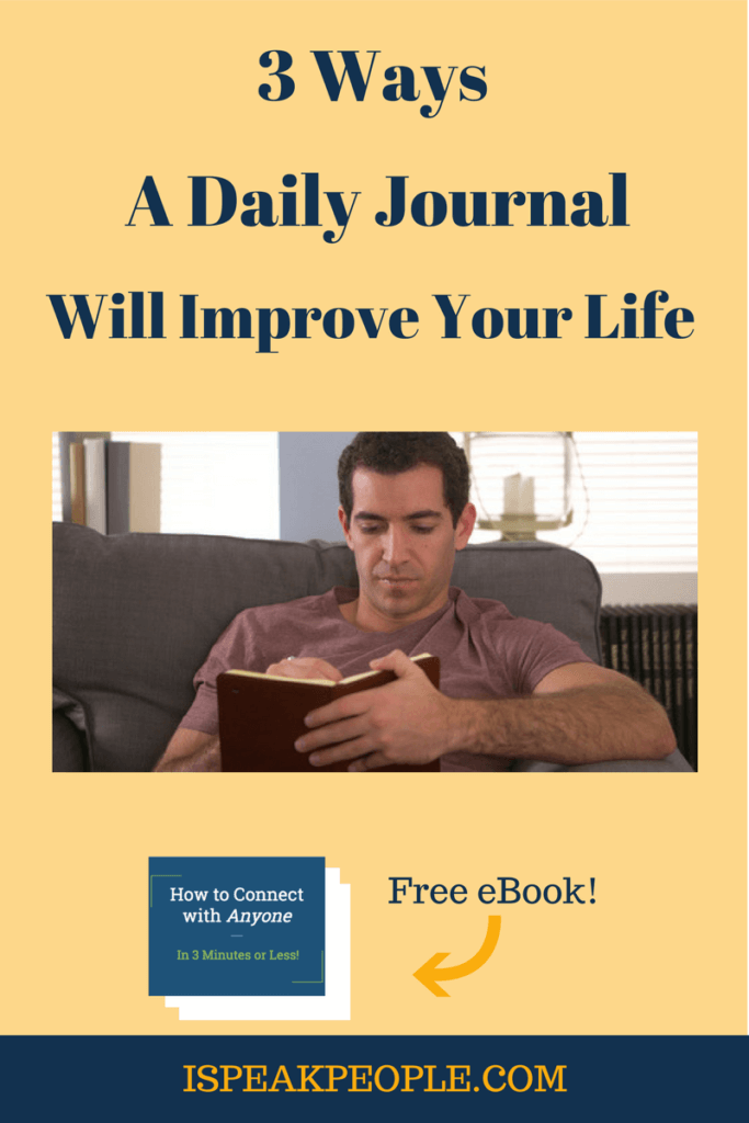 Journaling will make your life better - especially if you're an introvert. Check out three ways keeping a daily journal will improve your life.