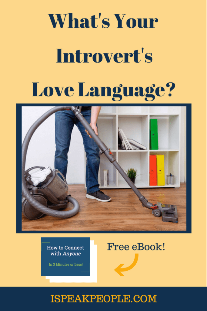 Do you know your introvert's love language? Find out how the little time you invest to figure it out can make a world of difference in your relationship.