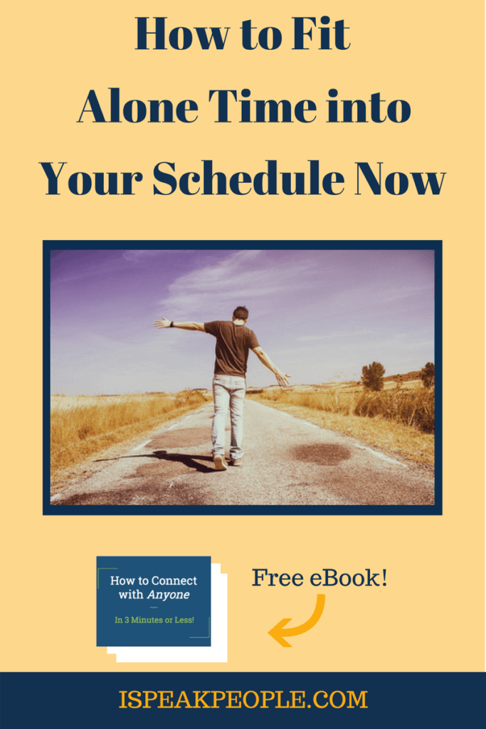 You know alone time energizes you and makes you a more productive introvert. Read this article to learn how to fit more of it into your schedule now!
