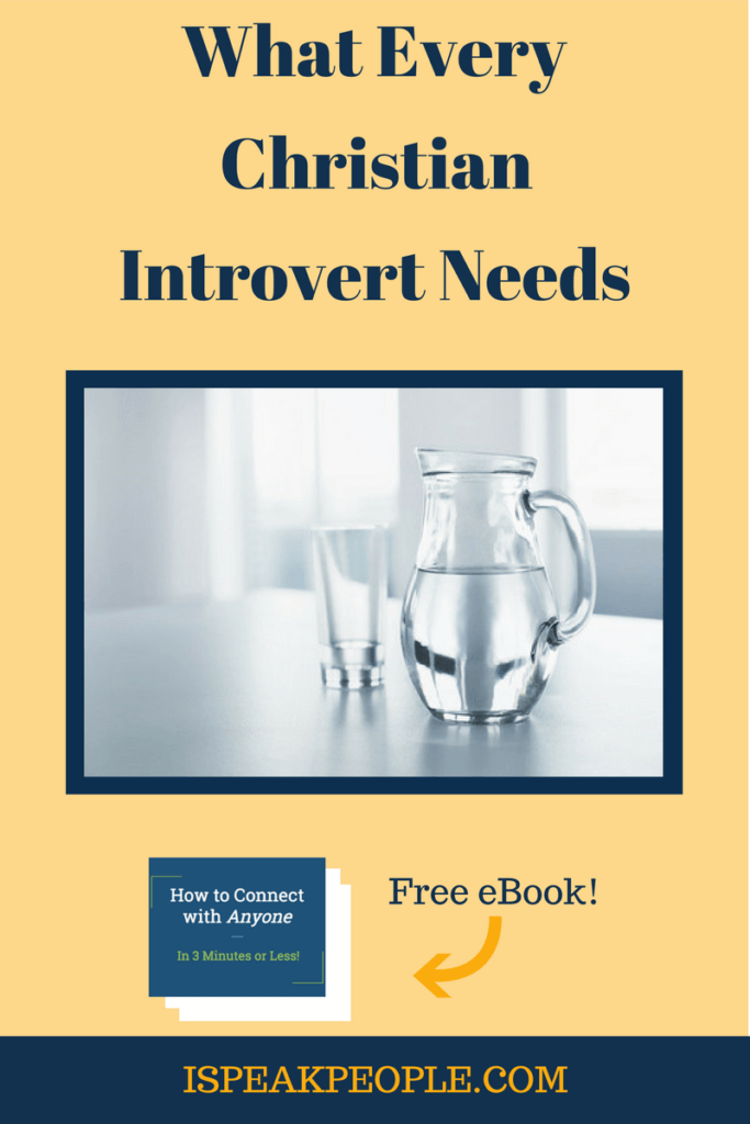 How does a Christian introvert grow? Could you be overlooking - or avoiding - the key to your growth as a follower of Christ? Don't resist this any longer.
