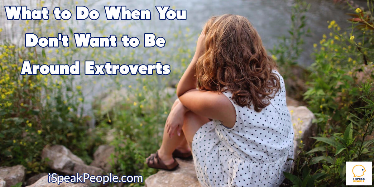 Ever wonder why extroverts drain you? Want figure out how to live and work with them without losing all your energy? Check out this post.