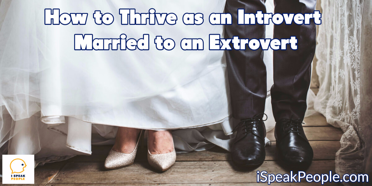 How do you survive as an introvert married to an extrovert, and how do you cultivate a healthy, vibrant relationship? Check out these 6 suggestions.