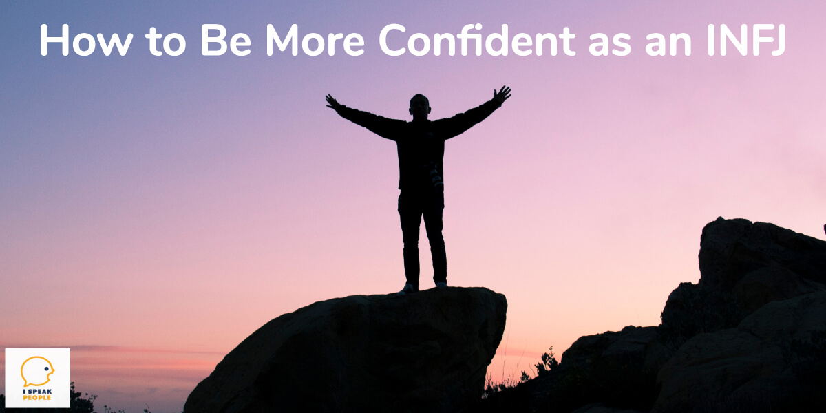 How can you be a more confident INFJ? Don't let feelings of inferiority and brokenness boss you around anymore. Try these 5 things to boost your confidence!
