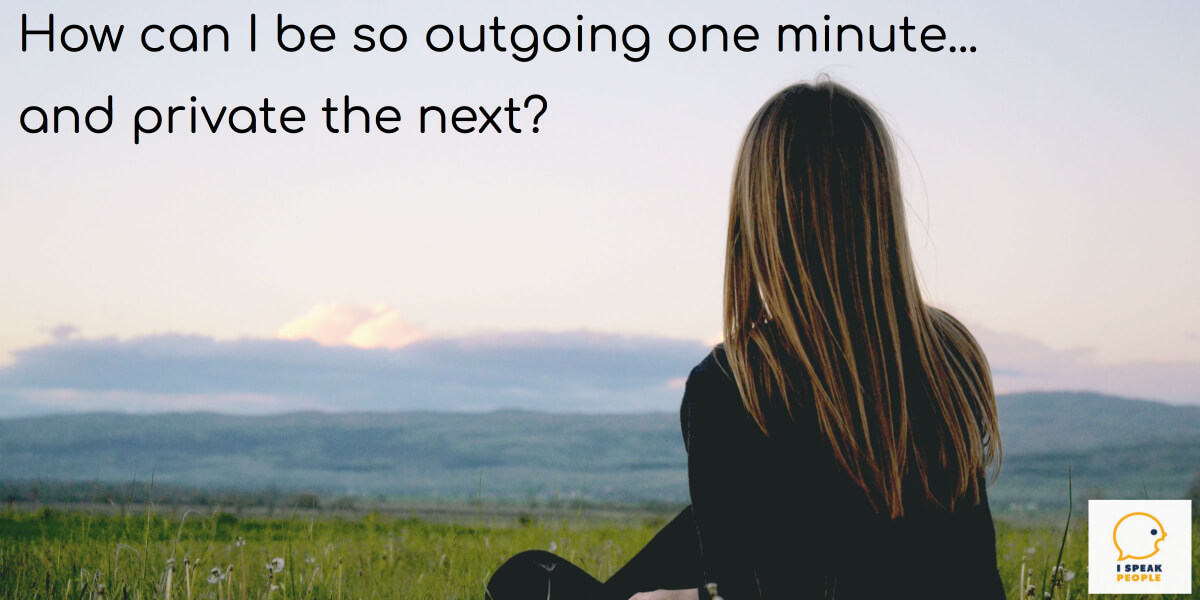 INFJs can be outgoing one minute and private the next. Why is that, and how can an INFJ maintain relationships without sacrificing alone time? Find out here.