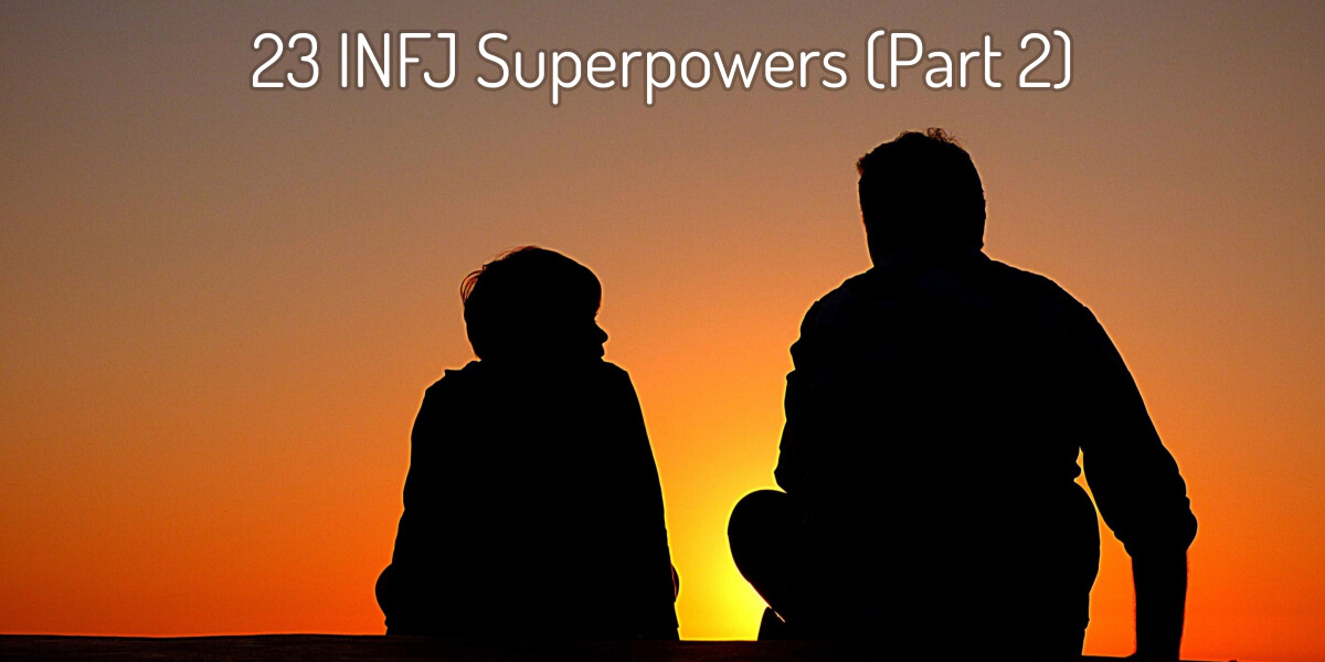 INFJs are often compassionate, kind, and thoughtful. Their kindness and desire to help others give rise to a number of wonderful gifts. Check out this article to learn more about them!