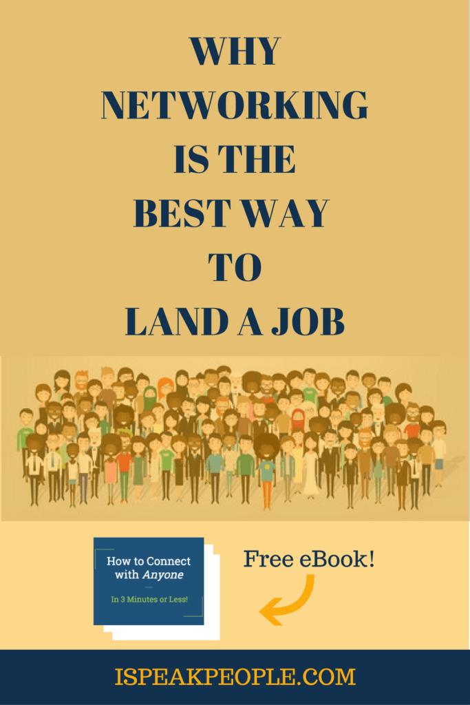 land a job