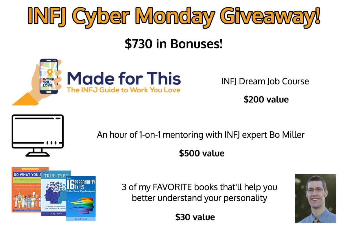 cyber monday sweepstakes the infj cyber monday giveaway 4891