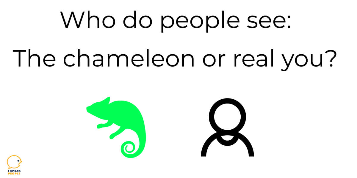Why do INFJs blend in and act like chameleons? Why is it so hard to share the real you? Learn why and what you can do about it in this post.